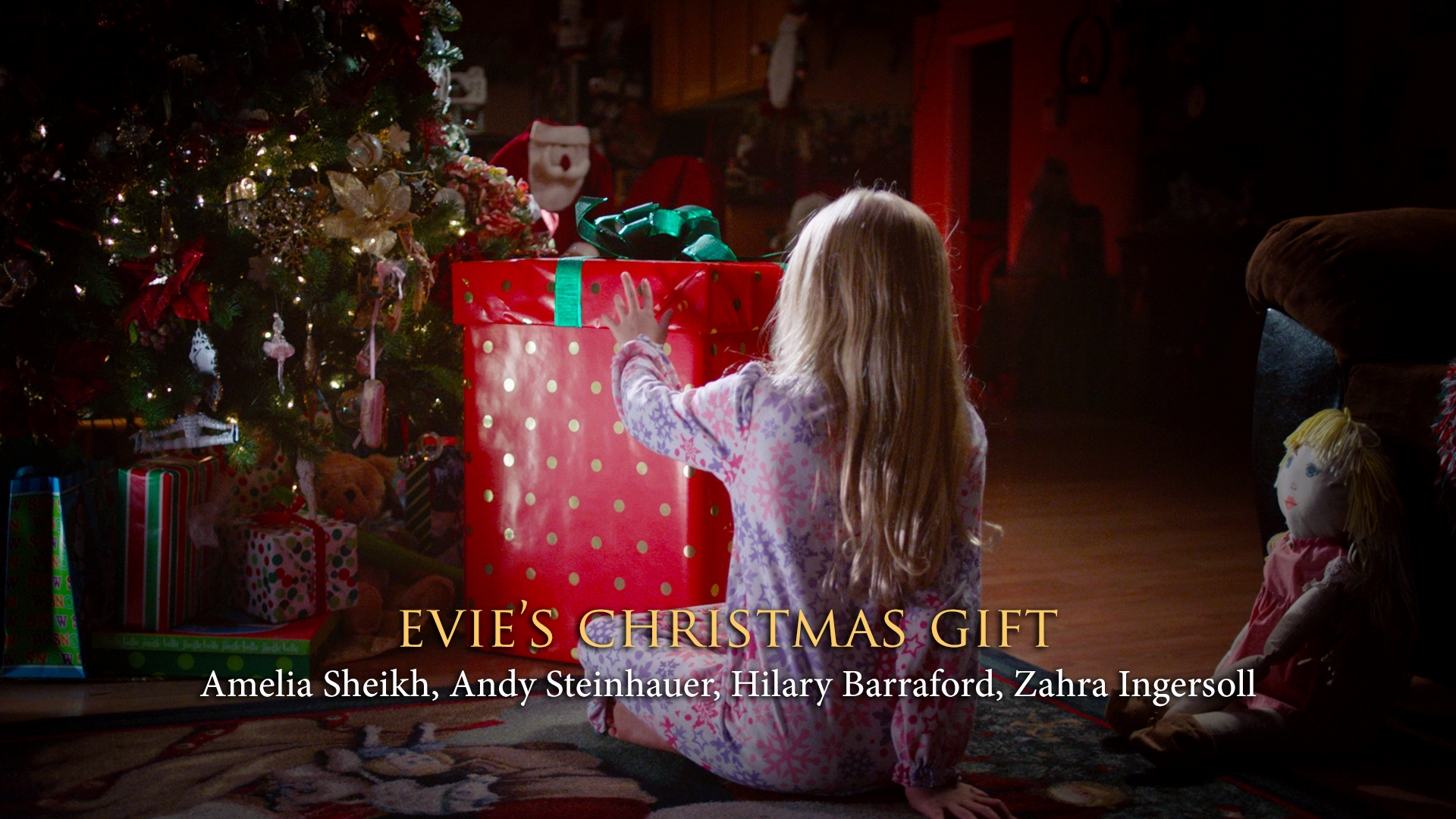 evies christmas gift palm street films - The Christmas Gift Movie Cast